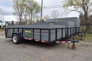 dumpster trailers, Troy, Mi.